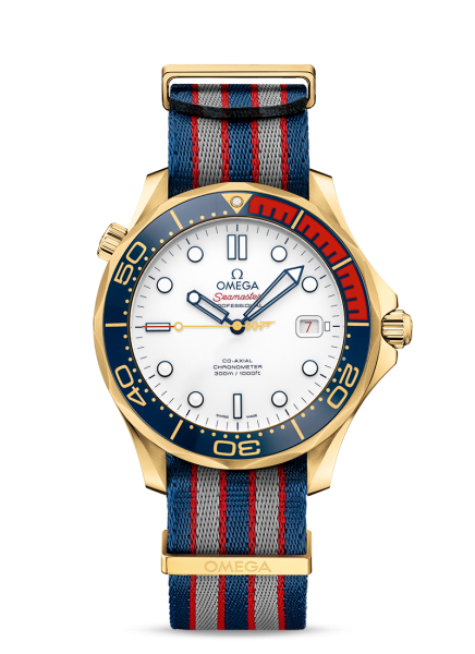 James bond 007-montre-or