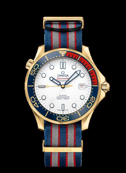 James bond 007-montre-or
