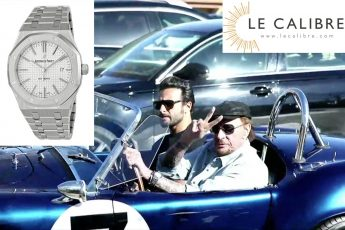 montre johnny hallyday