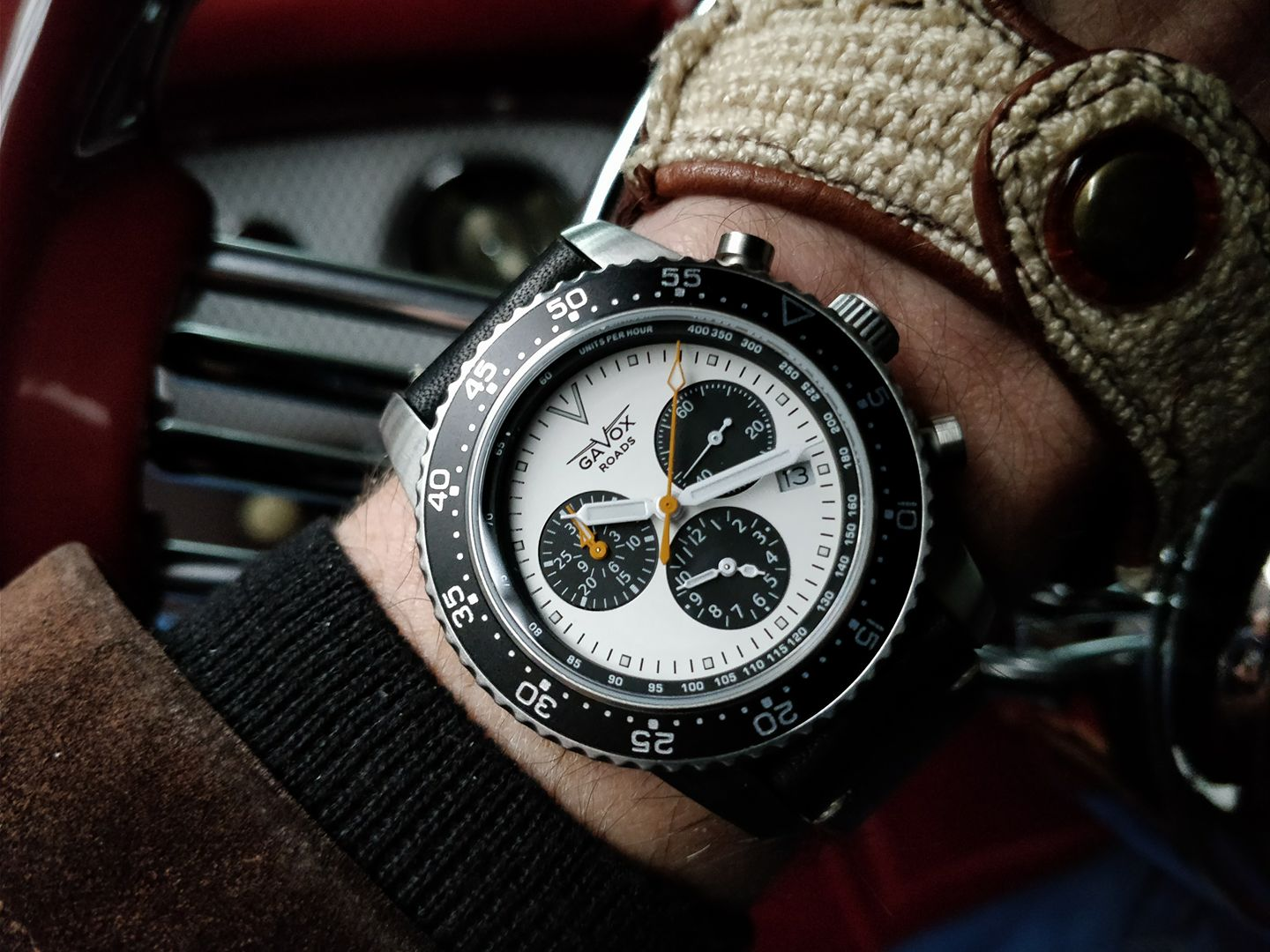 Montre Gavox Roads Icefileds Parkway au volant