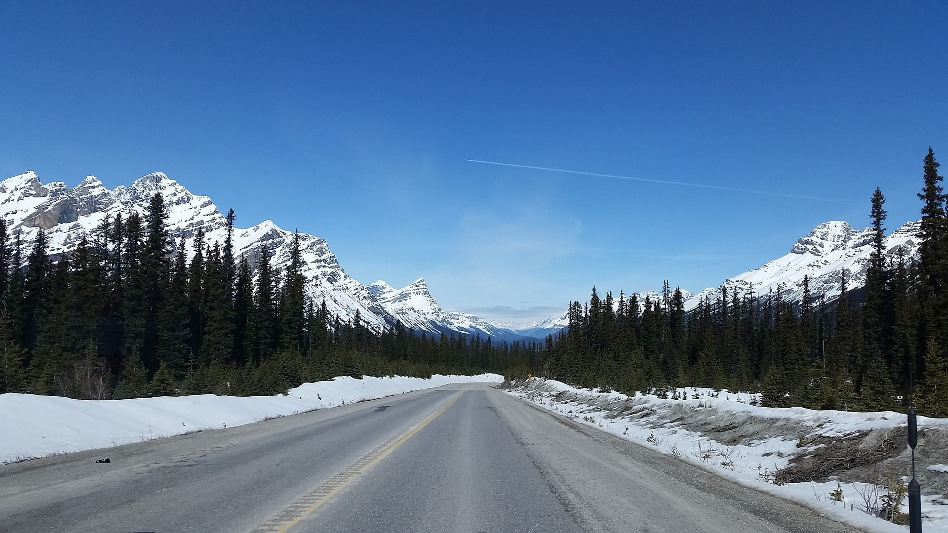 Icefield Parkway route panoramique