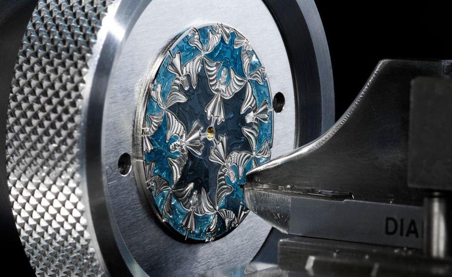 guillochage cadran Vacheron Constantin