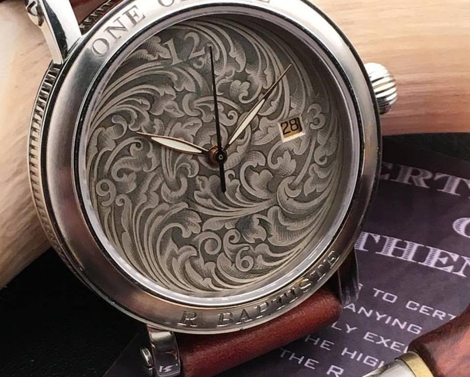 Roland Baptiste et la gravure sur montres (RBaptiste)