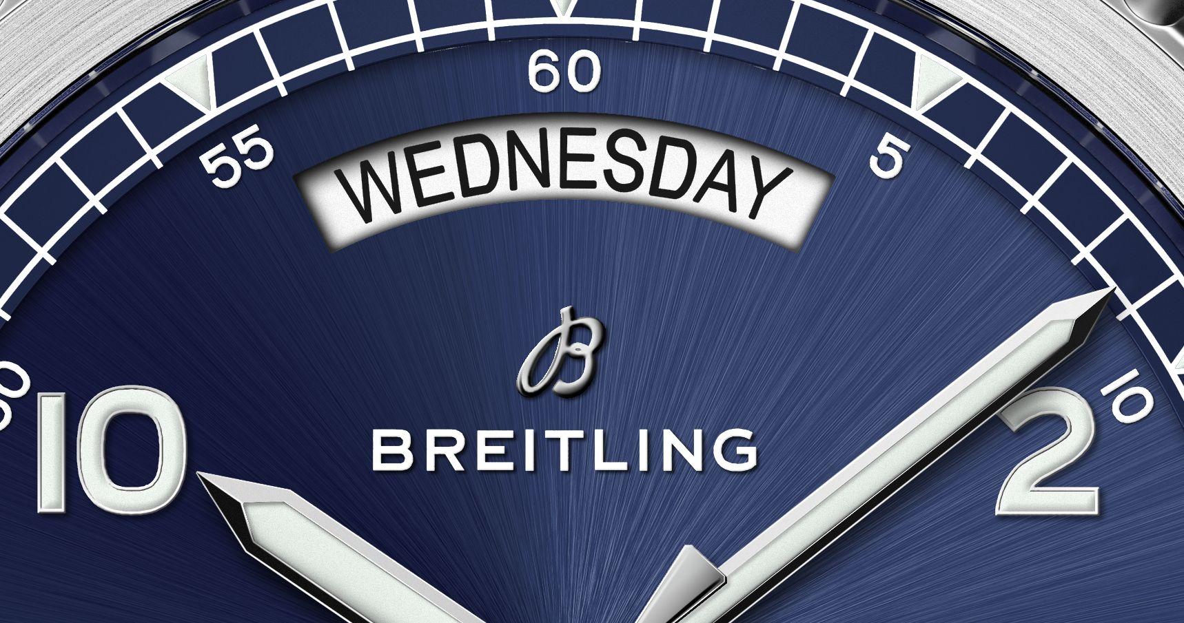 Nouveau logo Breitling