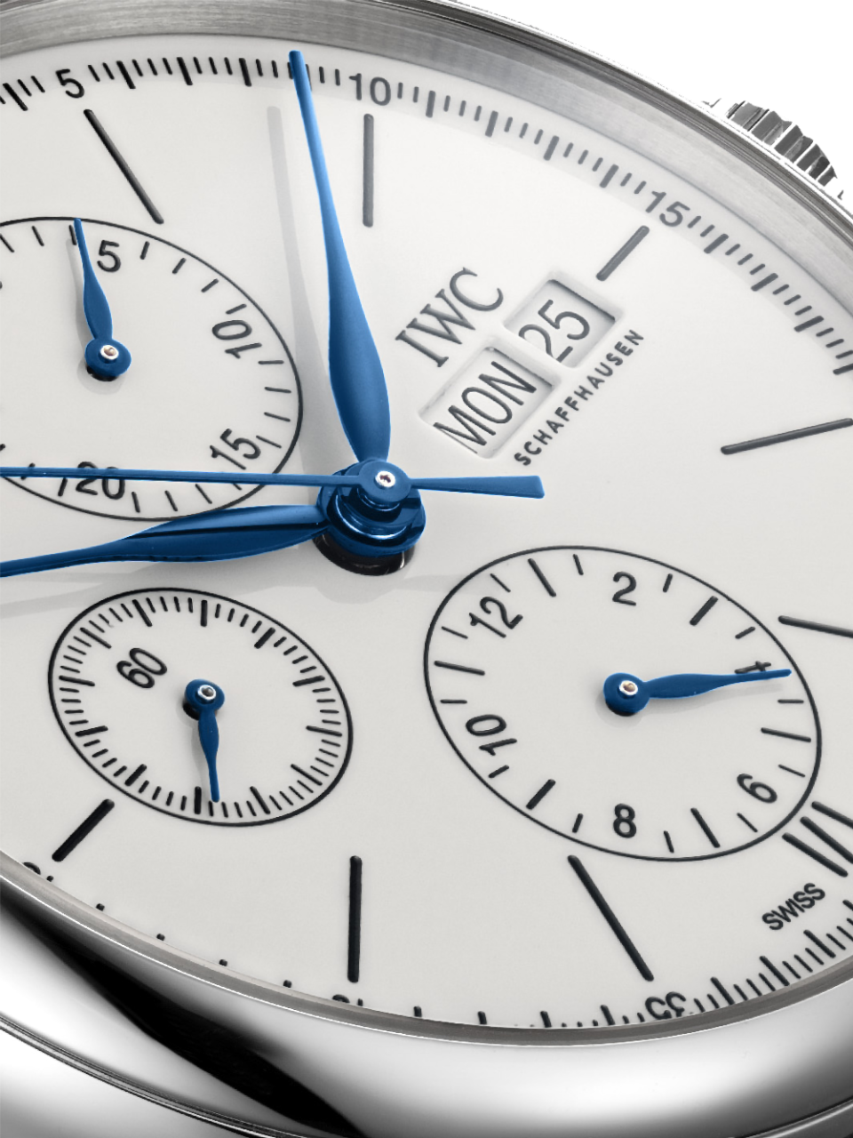 Portofino Chronographe index imprimés