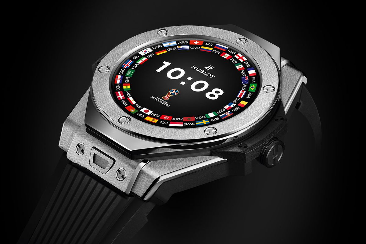 hublot big bang referee coupe du monde football