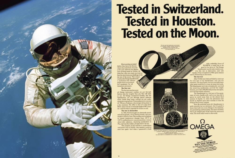 astronaute montres
