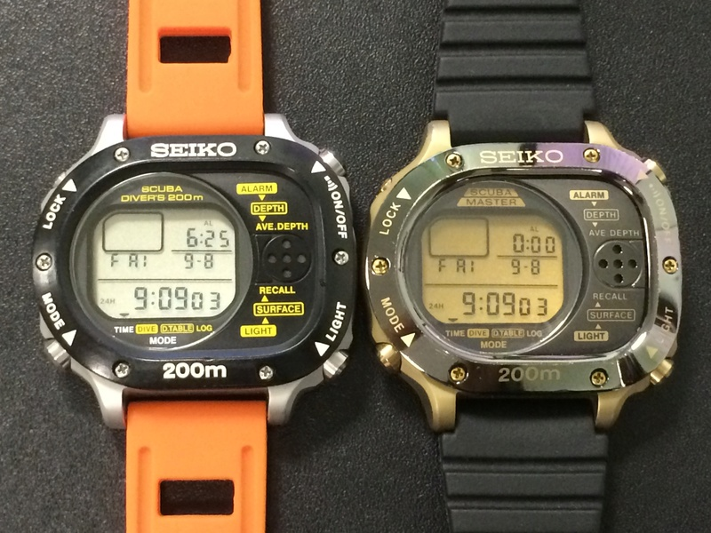 Seiko Scubamaster : 1ère montre ordinateur de plongée au monde