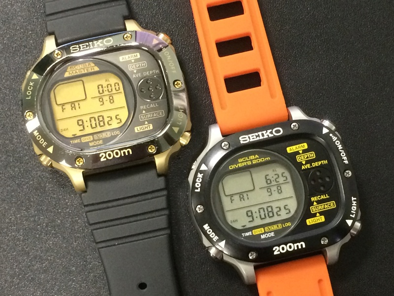 seiko SBBK002 et la SBBK001