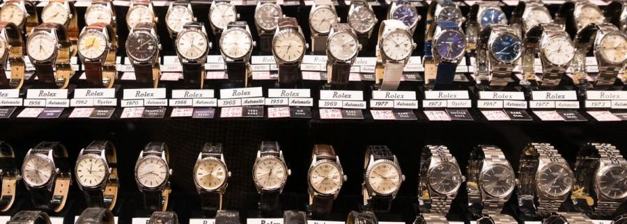 vendeur montres vintage