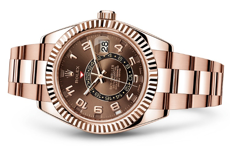 Conor-McGregor-Rolex Oyster Perpetual Sky-Dweller Everose Gold