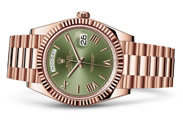 Conor-McGregor-Watch-Collection-Rolex-Oyster-Perpetual-Day-Date-40-Green-Dial