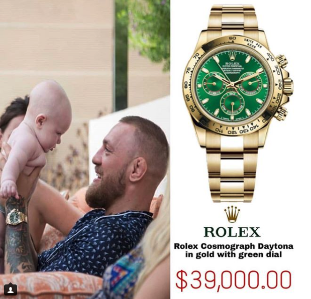 Conor-McGregor-Watch-Rolex-Oyster-Perpetual-Cosmograph-Daytona-Green-Dial