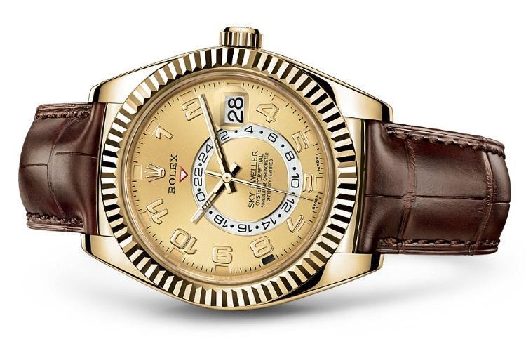 Conor-McGregor-montres-Rolex-Oyster-Perpetual-Sky-Dweller