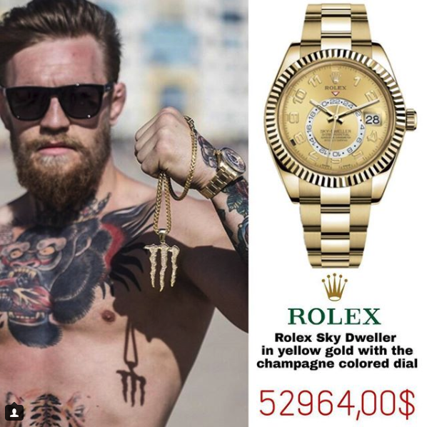 Rolex Oyster Perpetual Sky Dweller Or Jaune