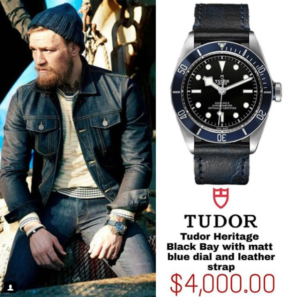 Tudor Heritage Black Bay Blue Dial