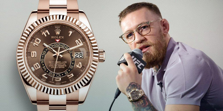 Conor McGregor Montres – Une collection impressionnante !