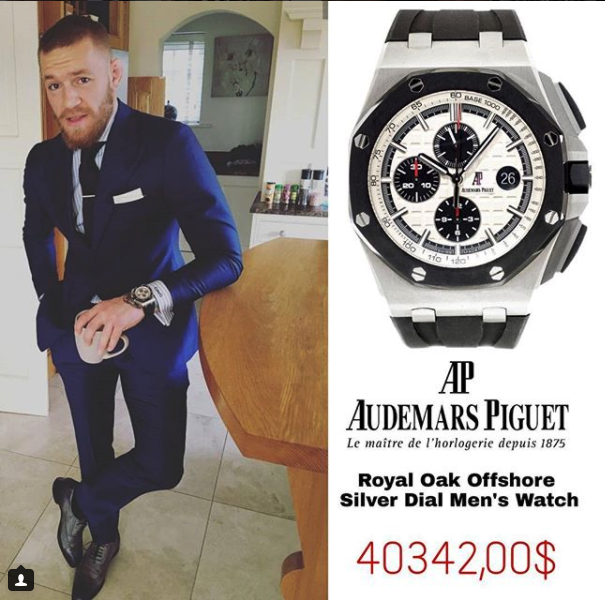 conor mcgregor royal oak offshore