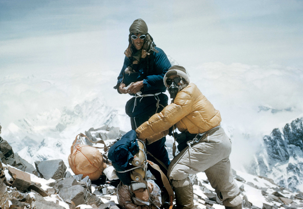 hillarytenzing-top-of-everest