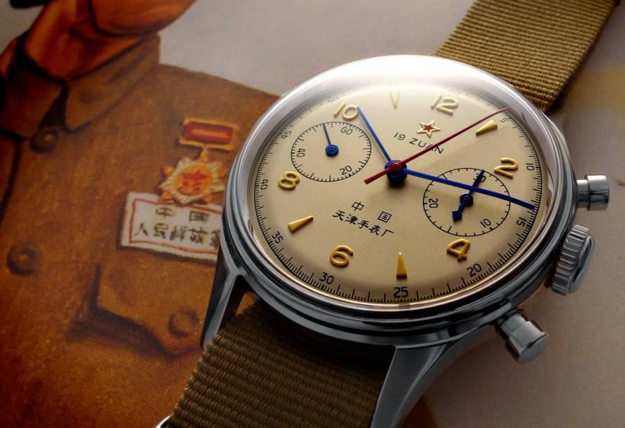 Seagull 1963, une vraie montre chinoise de l'Air Force