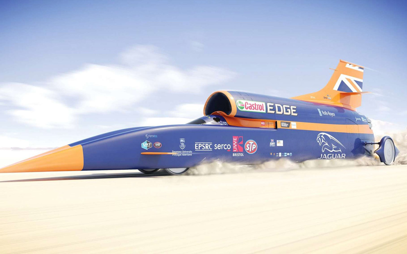 voiture supersonique BloodHound SSC