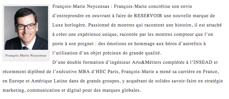 François-Marie Neycensas bio