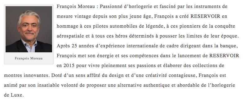 François Moreau bio