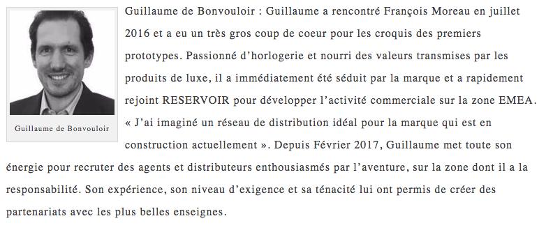 Guillaume de Bonvouloir bio