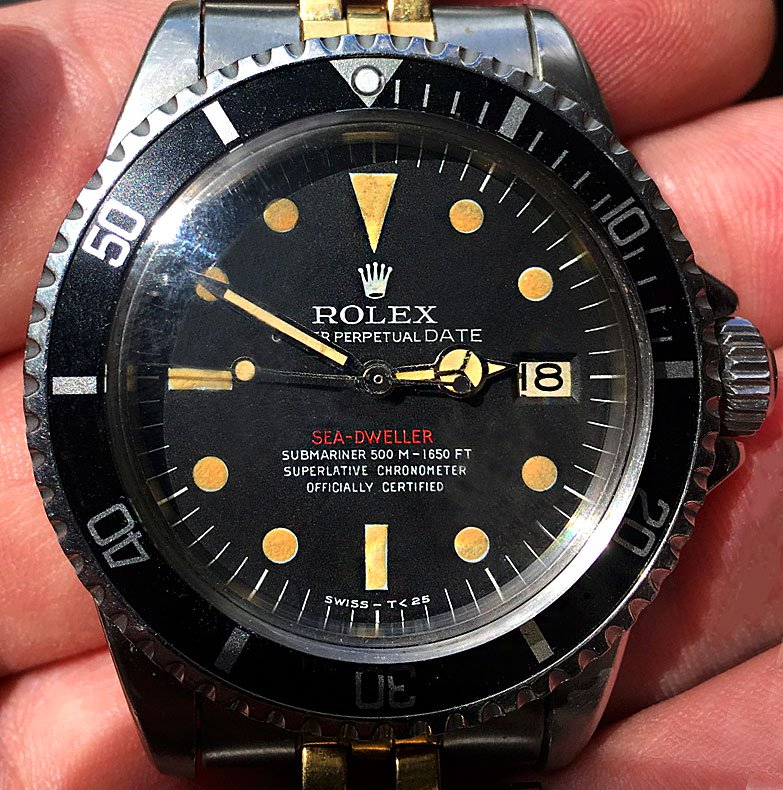 rolex sea dweller une montre de plong e extr me de plus de 50 ans. Black Bedroom Furniture Sets. Home Design Ideas