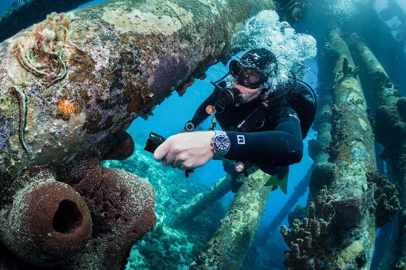 montre sous l eau