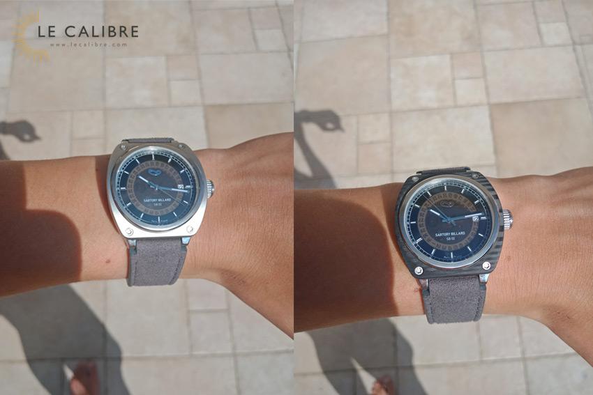 cadran-noir-bracelet-gris