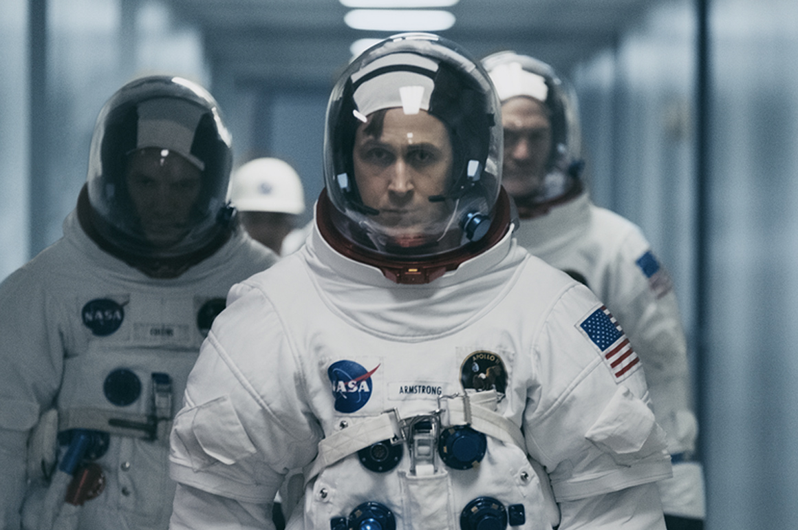 Ryan Gosling et sa Omega Speedmaster dans le film : First Man