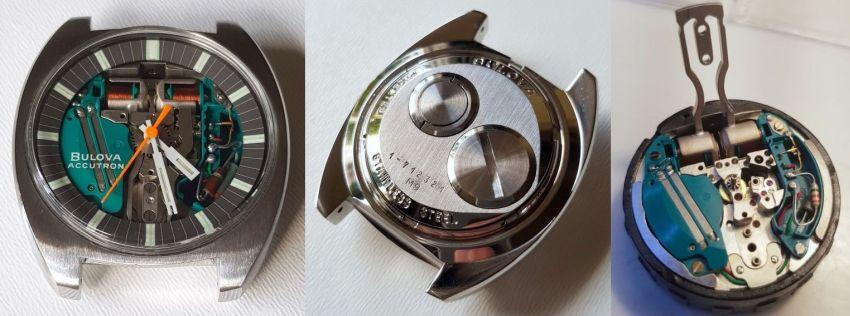 Accutron Spaceview modèle 770, calibre 214 à résonance