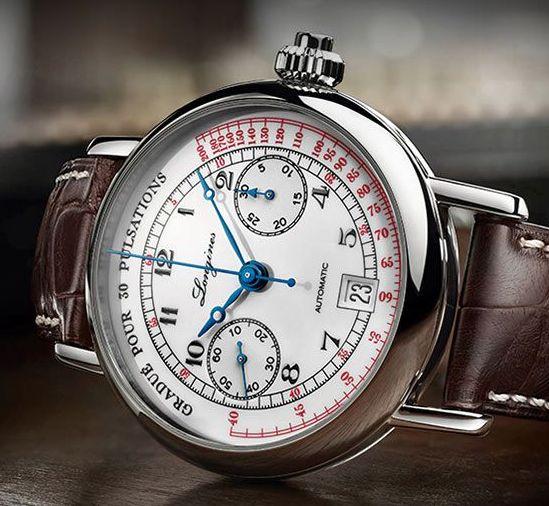 "Longines Pulsomètre Chronographe ""Doctor'swatch"""