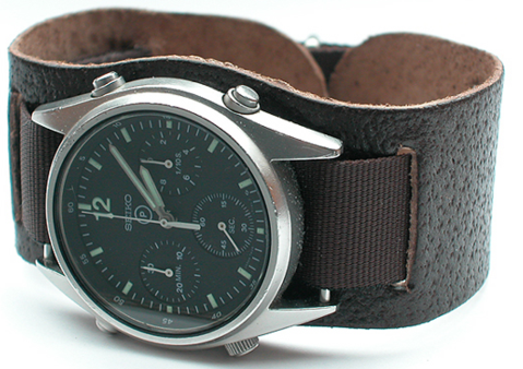 Seiko RAF strap on Bund