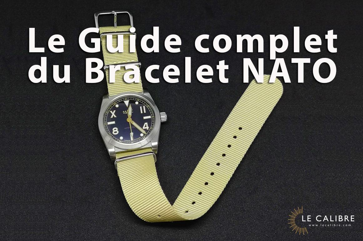 Bracelet NATO. L'esprit du bracelet de montre en nylon ! Guide d'Achat