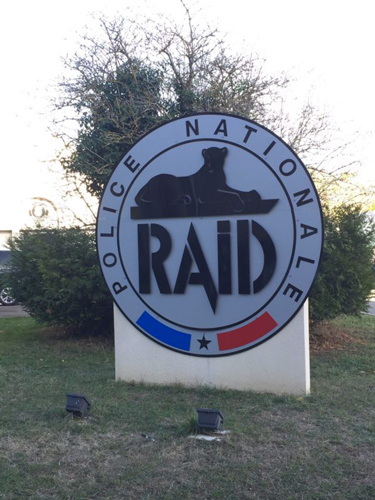 raid police national logo