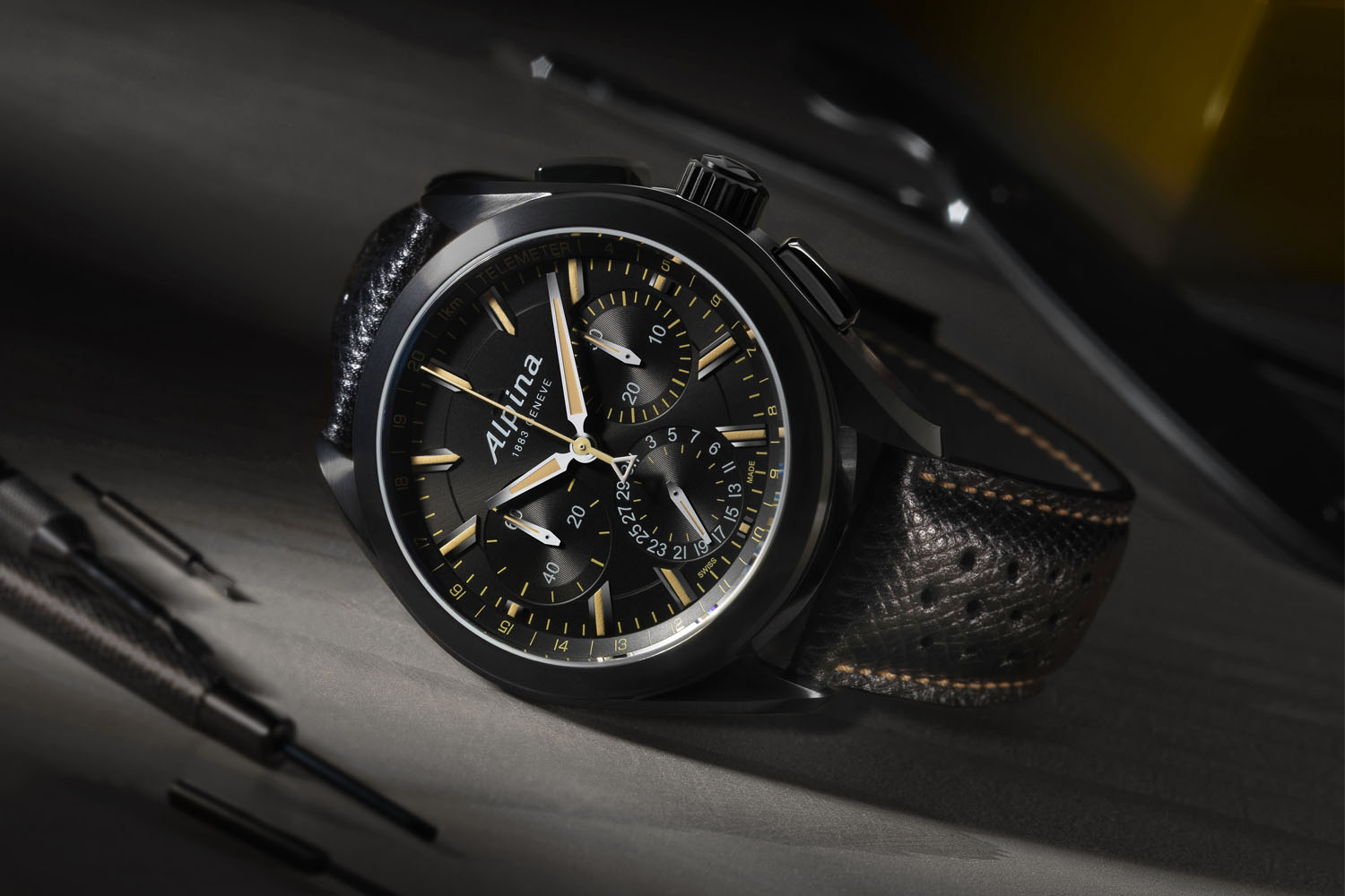 Alpina-Watches-Alpiner-4-Manufacture-Flyback-Chronograph-Full-Black-Calibre-AL-760-3