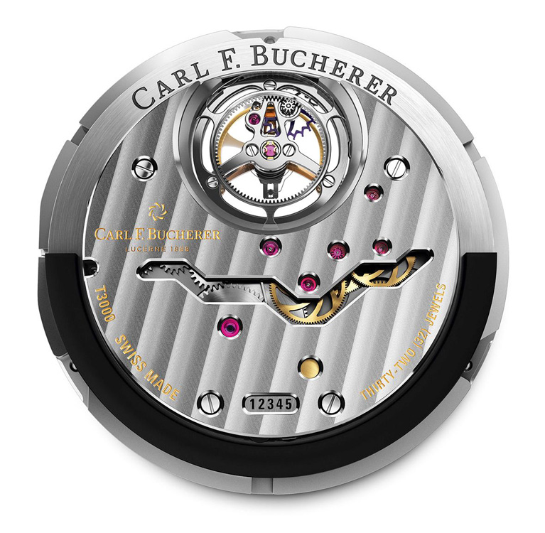 Masse oscillante peripherique Carl Bucherer