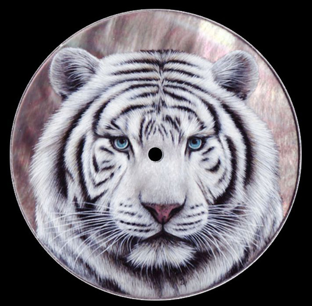 cadran peinture Isabelle tigre