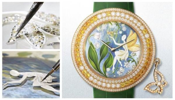 « La fée muguet » de Van Cleef & Arpels, collection Charm's