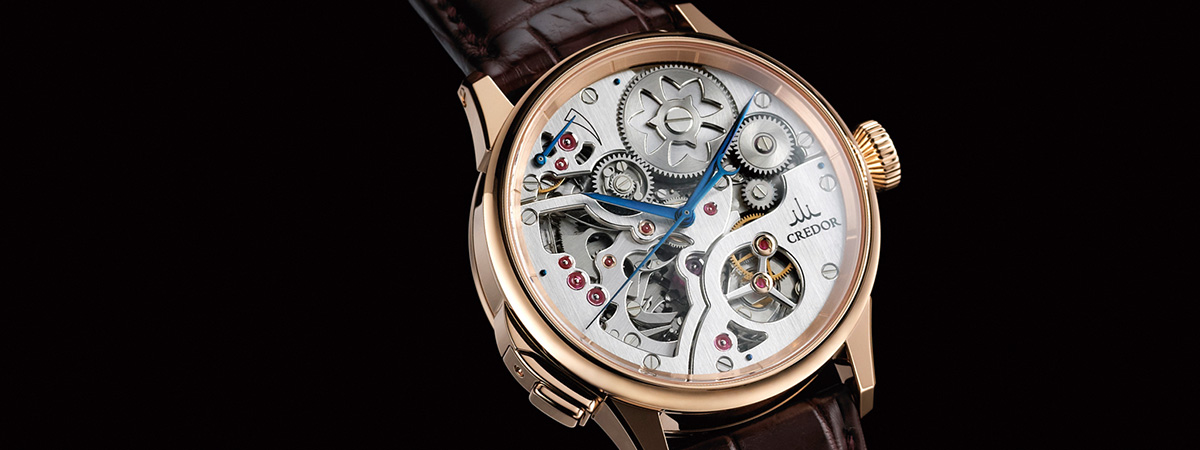 2011 Credor Node Minute Repeater