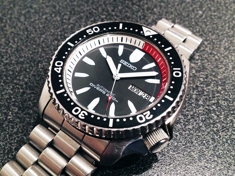 Seiko Bullet SKXA53 Watch