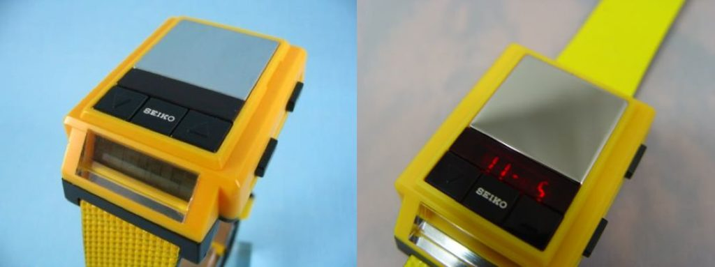 Seiko Drum Machine Yellow B010 Technabob