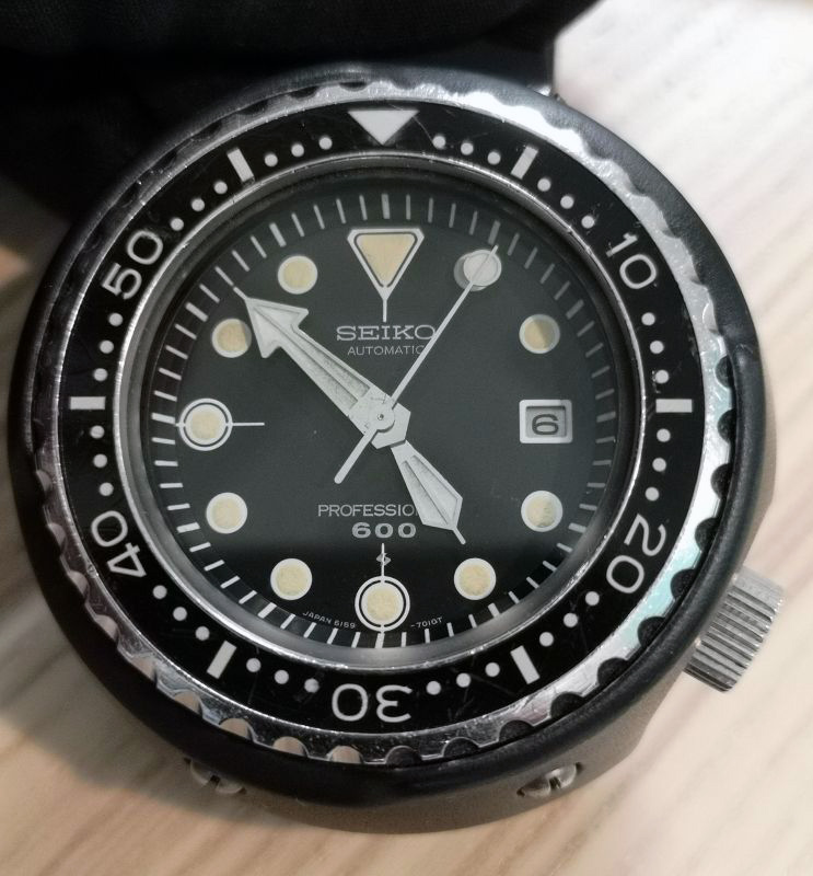 Seiko Grand-Father Tuna 6159-7010.