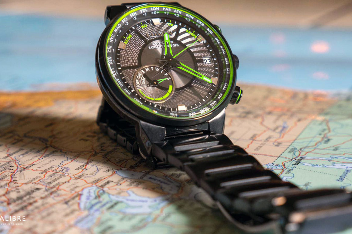 Citizen Eco-Drive Satellite Wave GPS CC3075-80 E: Test et Avis