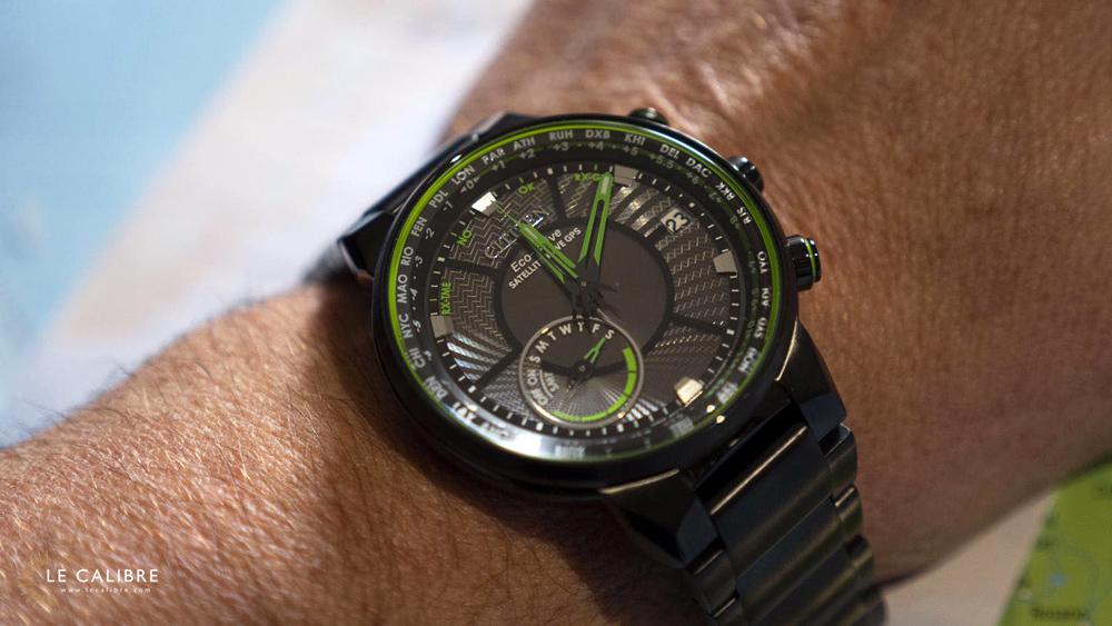Citizen-GPS wrist