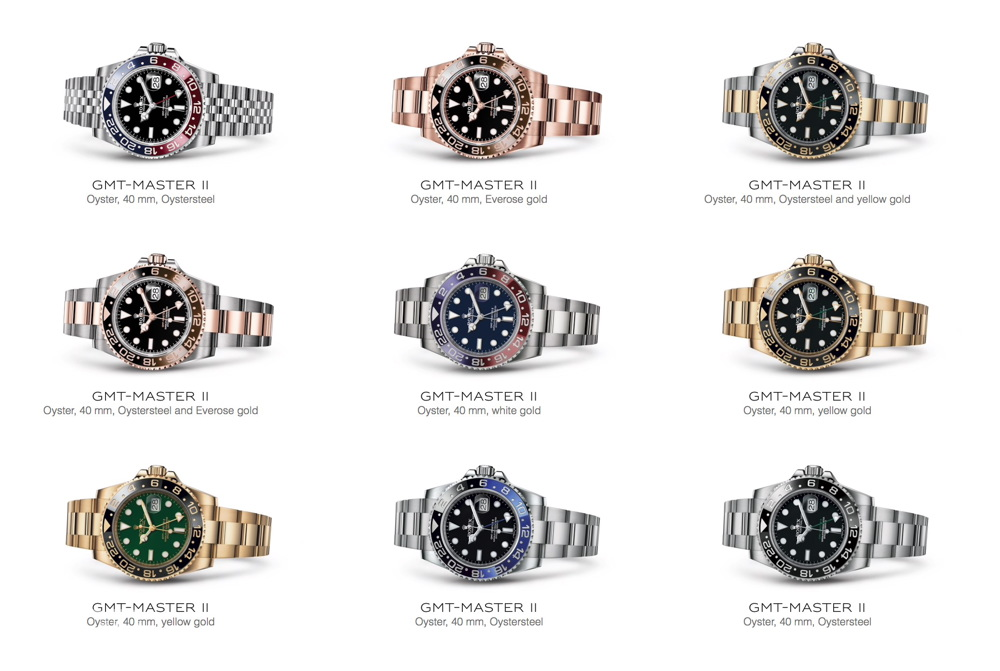 GMT Master Collection