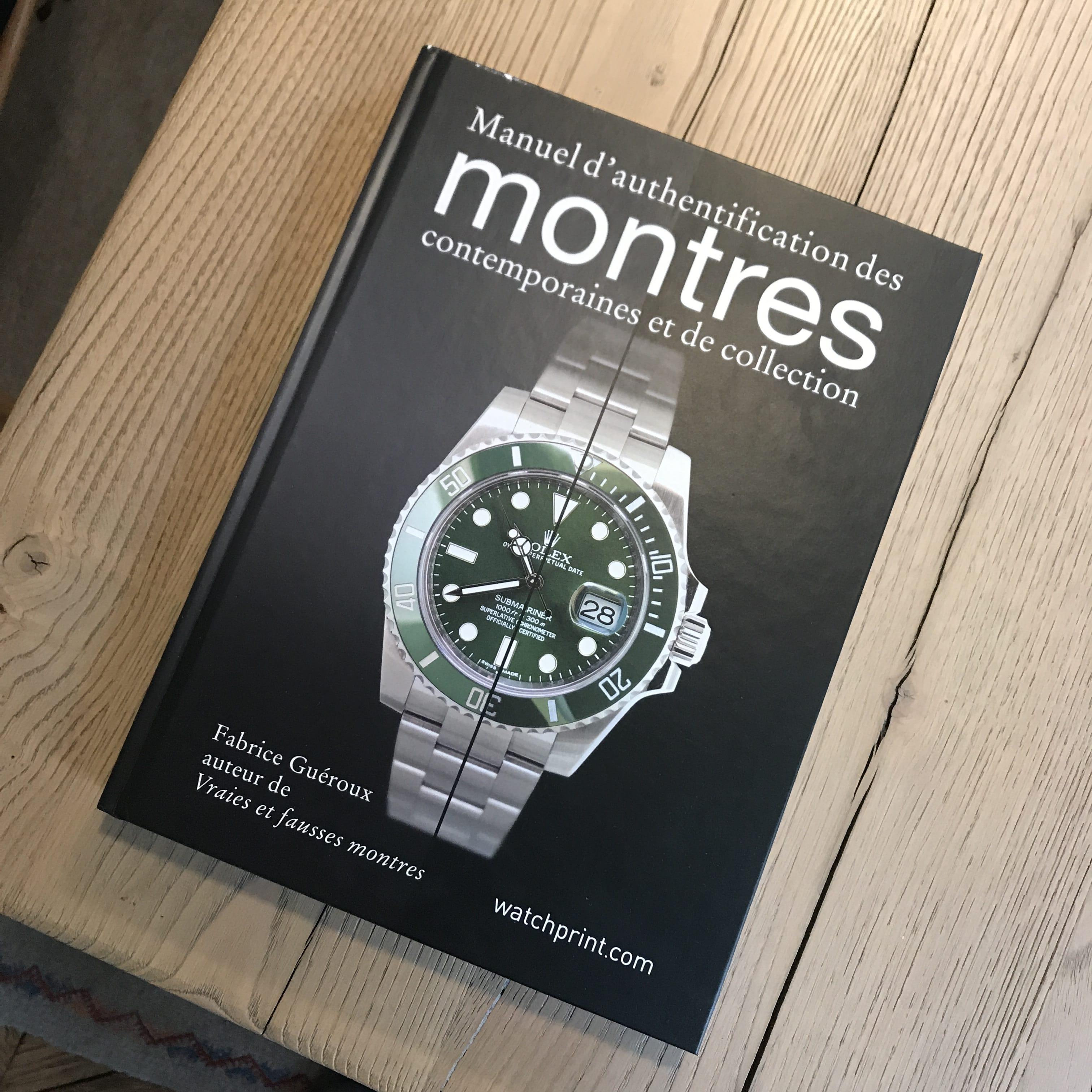 livre horlogerie
