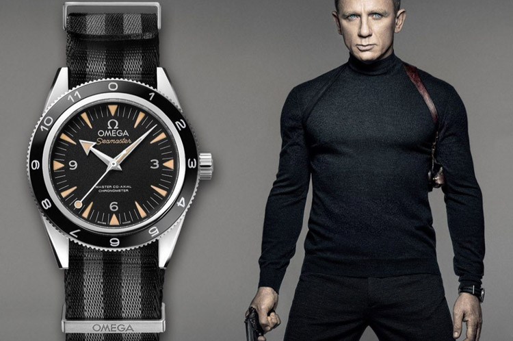 Montre James Bond: 27 garde-temps de l'espion 007 de 1962 à 2020